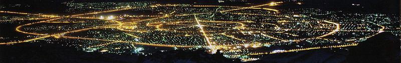 همدان در شب