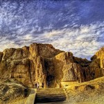 Naqsh-e Rustam at dawn