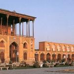 View of Ali Qapu Palace