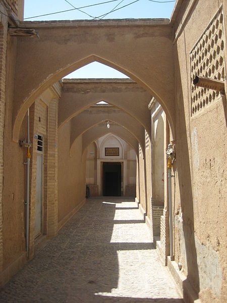 Historic_House_Entrance_in_Kashan_Iran