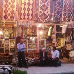 Many beautiful handicraft products are sold in Shandiz and Torghabeh.