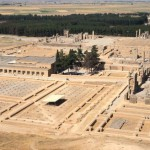 Overview of the site of Persepolis