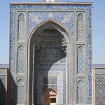Entrance to Kerman's Jameh Mosque (also known as Friday Mosque)