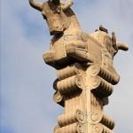 Persian-style column, as seen in Persepolis.