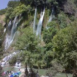 Bisheh waterfall Khorramabad county