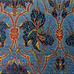 Persian Textile (The Golden Yarns of Zari - Brocade). Silk Brocade.