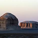 Lut Desert: Yardangs (Kaluts)