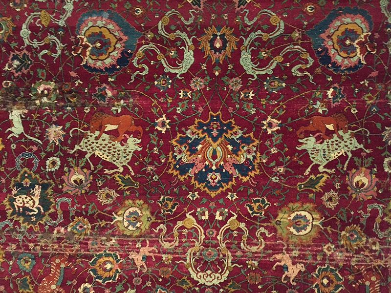 Hamburg_MKG_Safavid_animal_carpet