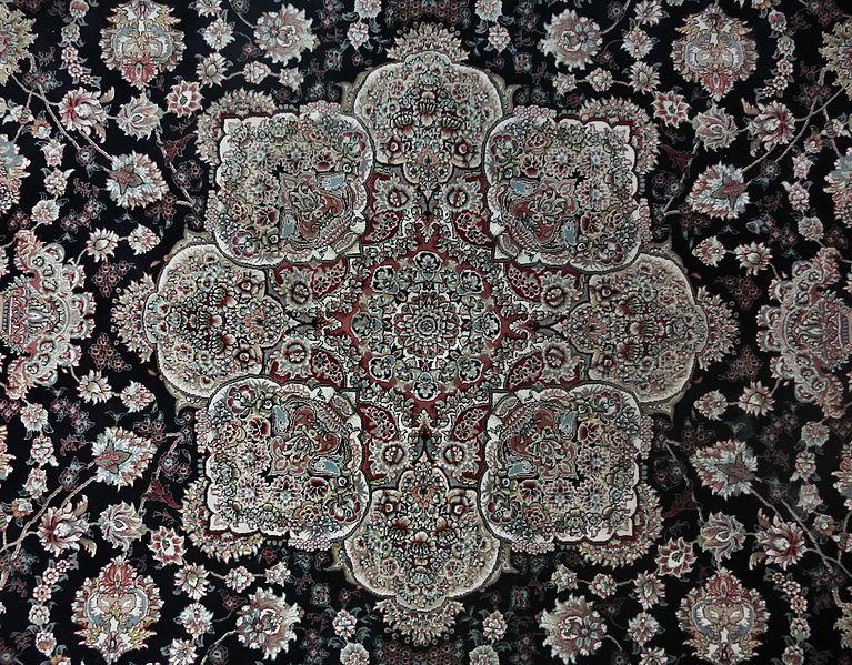 Toranj_-_special_circular_design_of_Iranian_carpets