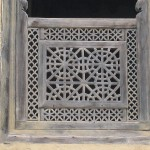Window of building in Masuleh