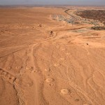 The Persian Qanat: Aerial View, Jupa