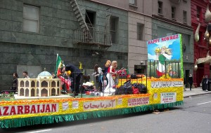 A Nowruz parade held by Iranian Azeris in New York City