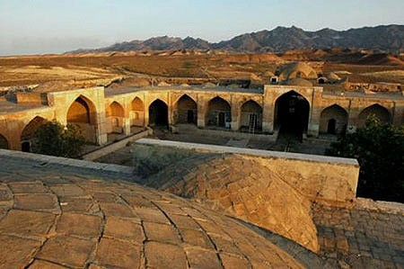 Ghasre Bahram- Caravanserai