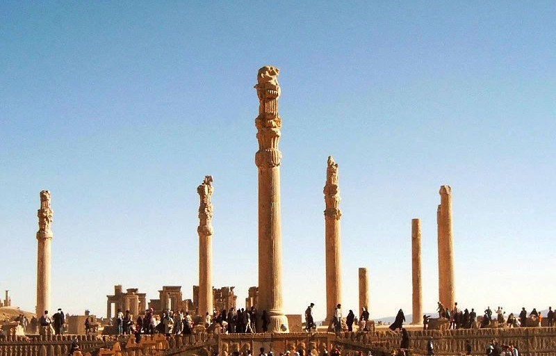 Apadana Palace at Persepolis