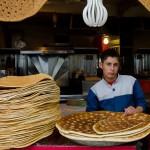 Qandi bread: A sweet bread, sometimes brioche-like and sometimes flat and dry.