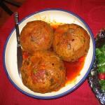 Kufte: Meatball or meatloaf dishes.