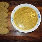 Tarkhine: Grain and yoghurt soup.