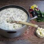 Āsh e doogh: Buttermilk thick soup.