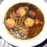 Kufte rize: Azerbaijani and Kurdish meatball stew.