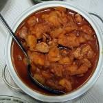 Khoresh e alu: Stewed prunes and meat.
