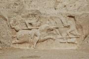 Equestrian relief of Hormizd II , Naqsh-e Rustam