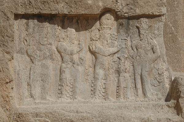 Investiture relief of Narseh , Naqsh-e Rustam