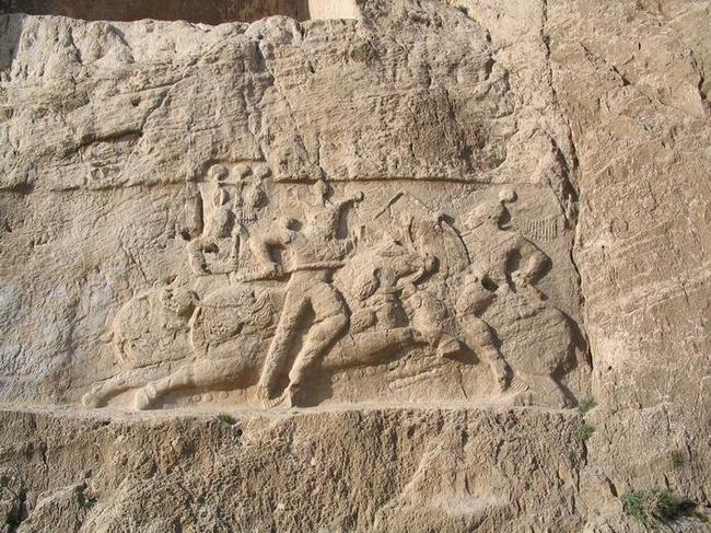 equestrian-relief-of-bahram-ii-2