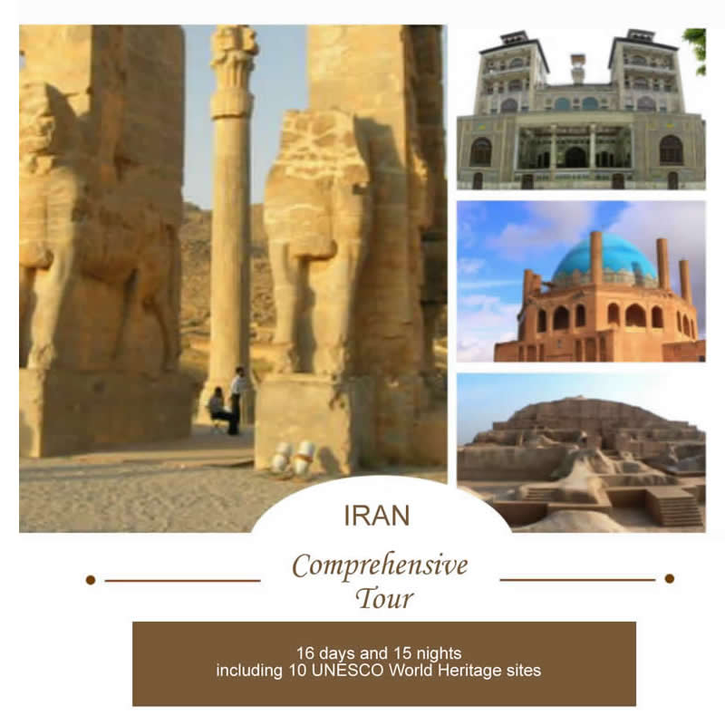 Comprehensive Tour of Iran