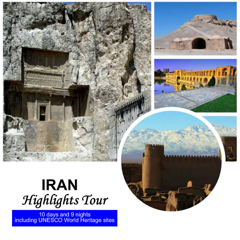 Highlights Tour of Iran