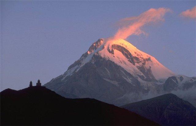 قله کازبک Mount Kazbek