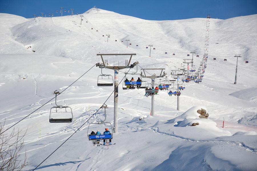 پیست اسکی گودائوری Gudauri Ski Resort