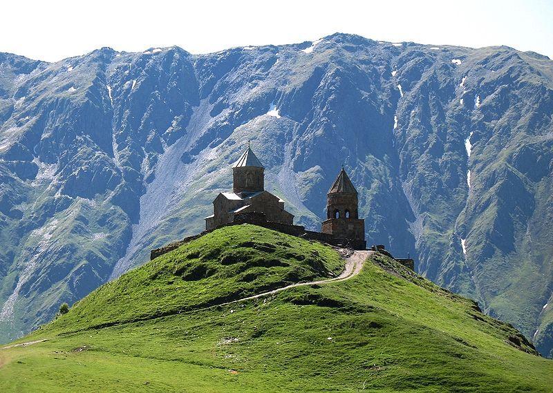 کوه کازبگی kazbegi mountain