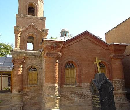 Russian Church, Qazvin