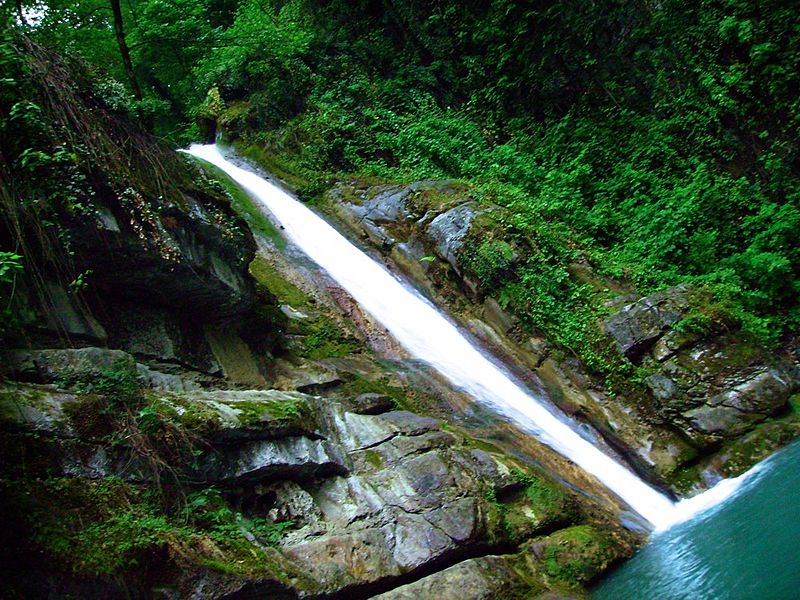 Shir Abad Waterfall