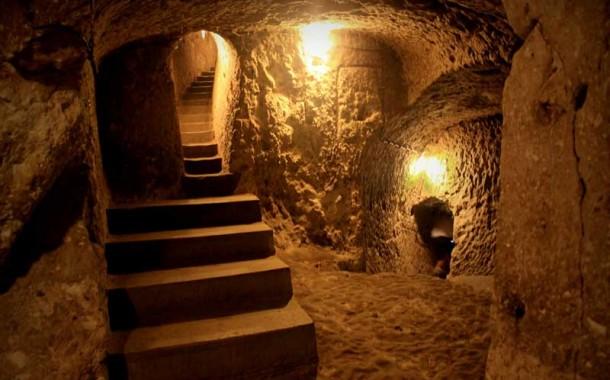 Underground city of Huy