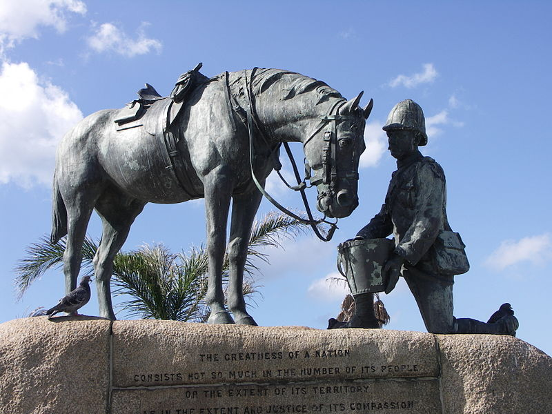 بنای یادبود اسب Horse Memorial