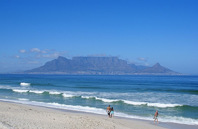 کوهستان تیبل Table Mountain