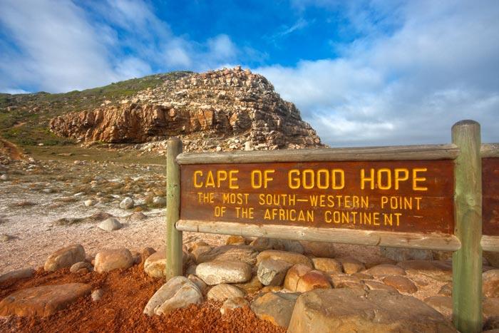 دماغه گود هوپ Cape of Good Hope