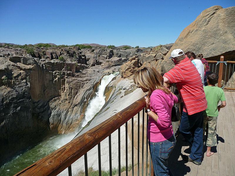 آبشار اوگریبیس Augrabies Falls