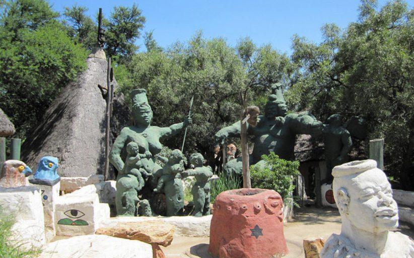 دهکده فرهنگی کردو موتوا Credo Mutwa Cultural Village