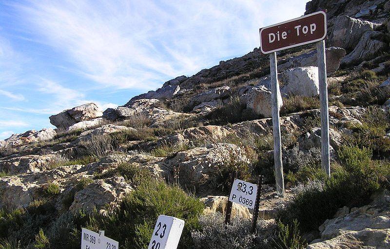 گذرگاه سوارتبرگ Swartberg Pass